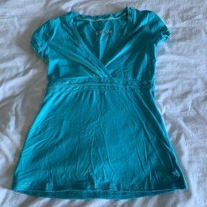Blue Garage short sleeve top